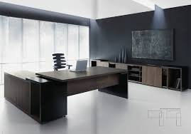 Excutive Desk The Look Contemporary Executive Desk U2014 Contemporary