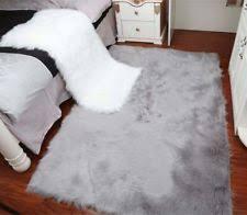 Washable Sheepskin Rug Modern Faux Leather Fur U0026 Sheepskin Rugs Ebay