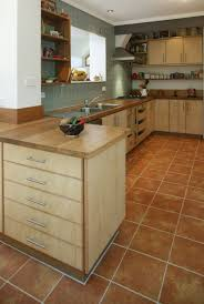select custom joinery plywood kitchen with recycled timber bench top