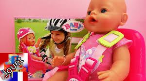 siege pour velo jeu vélo baby born siège de vélo pour notre poupon baby born en