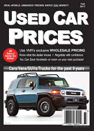 used prices used car and truck price guide wholesale and retail values
