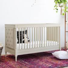 colette tufted crib wayfair