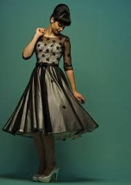 ordering your retro tea length fifties wedding dress u2013 fairygothmother