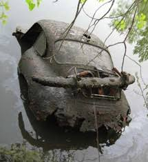 Barn Finds Cars Lake Find Of The Day Porsche 356 Autoblog