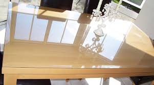 Astonishing Dining Room Table Glass Top Protector  For Your - Dining room table protectors