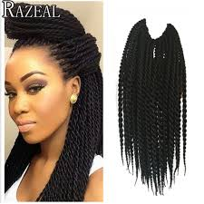 Curly Hair Extensions For Braiding by 16 Braided Hair Extensions Styles Mambo Twist Hair Extensions
