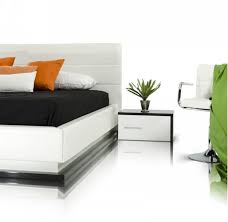 Platform Bed With Lights Vgkcinfinity In By Vig Furniture In Plano Tx Modrest Infinity