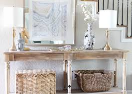 How To Decorate Sofa Table Entryway Console Table Styling Tips How To Decorate Any Table