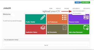 Upload Your Resume Jobs24 Jobs