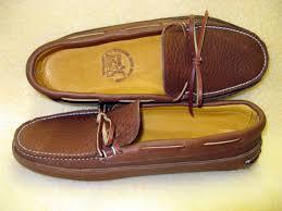 Handmade Shoes Usa - ole maine comfort classic sole deerskin lined honey