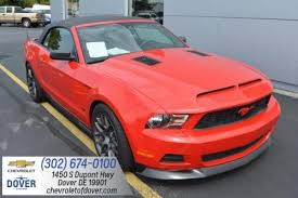 used ford mustang 2010 used ford mustang for sale in dover de edmunds