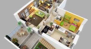 modern one bedroom apartment design plans 3d picture apartments 3d