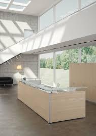 Oak Reception Desk Angelico Italian Design Reception Desk