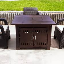 outdoor fire pit table patio deck backyard heater fireplace