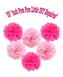 amazon com happy birthday banner pompom decorations perfect