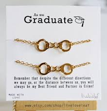 graduation jewelry gift for graduation gift ideas gold handcuffs bracelets partners in