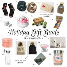 fun stocking stuffers holiday gift guide unique stocking stuffers
