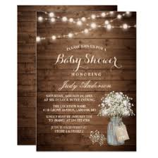 rustic baby shower rustic baby shower gifts on zazzle