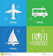 Traveling Agency images Set of vector illustration logos for travel agency stock vector jpg
