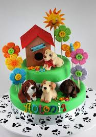 image result for puppy dog pals birthday cake puppy pals