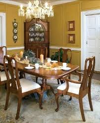 queen anne dining table for sale cherry room and chairs solid