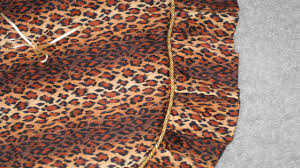 wild animal quilted christmas tree skirt handcrafted christmas