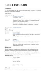 Software Developer Resume Examples by Senior Analyst Resume Samples Visualcv Resume Samples Database