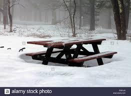 picnic table at campground stock photos u0026 picnic table at