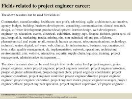 Project Engineer Sample Resume by Top 5 Project Engineer Cover Letter Samples