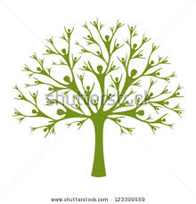 human tree vector tree created human stock vector 123399559
