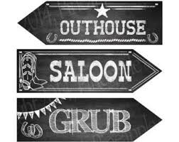 themed signs free printable cowboy signs and sayings search harvest
