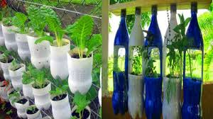 Bottle Garden Ideas Beautiful Garden Ideas Using Plastic Bottles