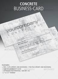 concrete business cards cardview net business card visit card design inspiration