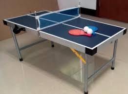 aluminum ping pong table aluminum frame 3 ft mini game table wood folding mini ping pong