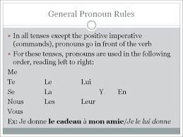 double object pronouns in french youtube