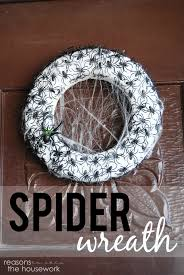 spider wreath reasons to skip the housework