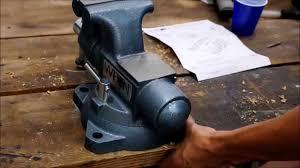 mounting wilton tradesman vise youtube