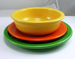 dining room appealing fiestaware with colorful bowl for inspiring