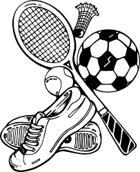 sports coloring pages the sun flower pages
