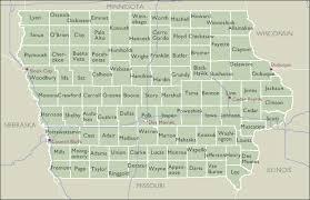 map of iowa county wall maps of iowa