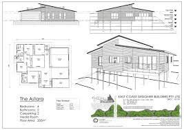 Tara Floor Plan by East Coast Designer Builders Cairns 4 Bedroom Designs