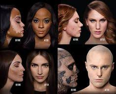 tattoo camo before and after zombie boy rick genest s flawless new look rick genest tattoo and