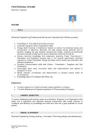 Maintenance Resume Sample Free Journeyman Electrician Resume Highway Maintenance Cv Examples