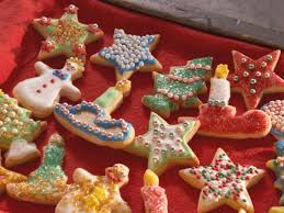 santa u0027s christmas cookies recipe nancy fuller food network