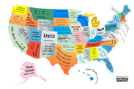 Image Of Usa Map by The Musical Map Of The United States