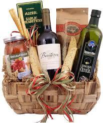 pasta gift basket organic pasta wine gift basket