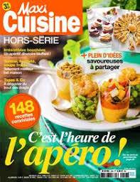 maxi cuisine magazine my cuisine avril 2018