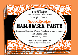 halloween office party invitation wording u2013 festival collections