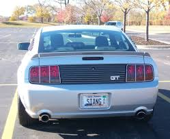 personalize plate personalized plate for 2006 vista blue gt ideas ford mustang forum