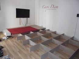 wohnzimmer podest selber bauen u2013 bauanleitung mit bildern und maße